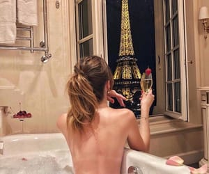 paris, bath, and luxury image