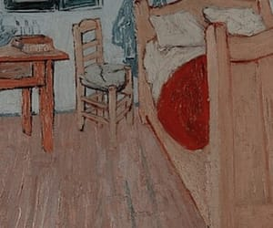background, painting, and van gogh image