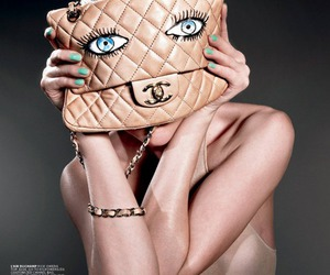 bag, channel, and eyes image