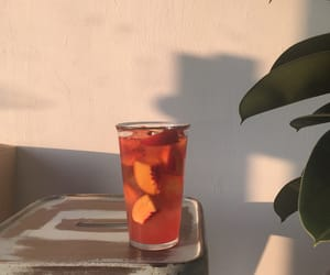 drink, aesthetic, and peach image
