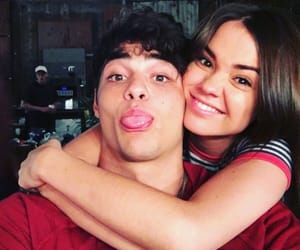 the fosters, maia mitchell, and noah centineo image