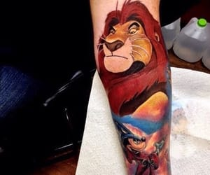 arm, lion king, and awesome image
