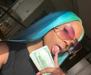 money and baddie image