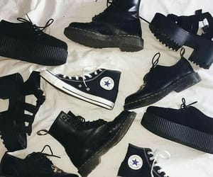 converse, grunge, and shoes image