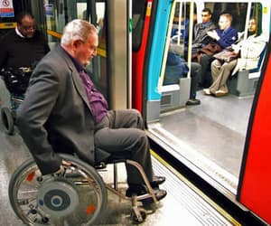 train, disability, and trains image