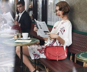 model, bag, and Louis Vuitton image