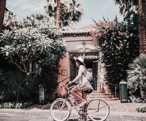 travel, bicycle, and summer image