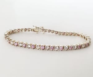 birthday, pink, and sterling silver image