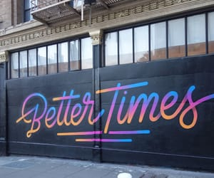mural, san francisco, and better times image