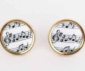 collectible, jewelry set, and musical notes image