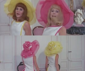 60s, Francoise Dorleac, and catherine deneuve image