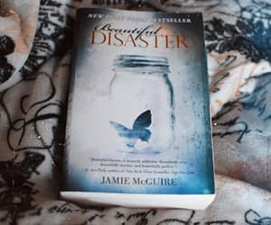 beautiful disaster, couples, and books image