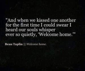 quotes, kiss, and home image