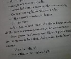 amor, frases en español, and eleanor&park image