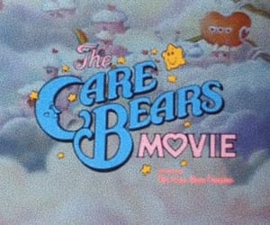 care bears, heart, and movie image