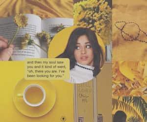 wallpaper, yellow, and lockscreen image