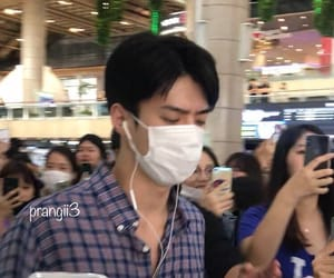 airport, kpop, and sehun image