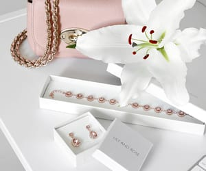 jewelry beautiful and pink love marble image