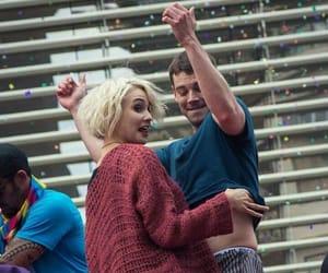 couple, gay pride, and sense8 cast image