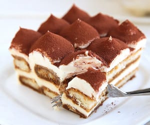 food, tiramisu, and sweet image