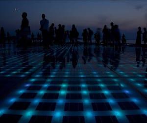 dark, light, and blue image