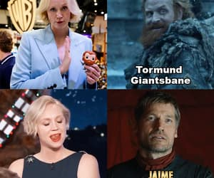 brienne of tarth, game of thrones, and never over it image