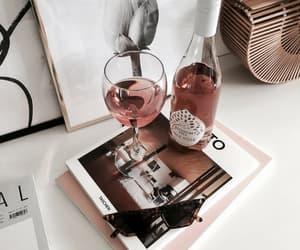 fashion, sunglasses, and wine image