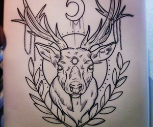 deer and idea image