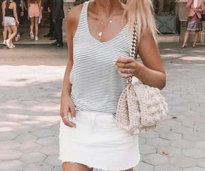 blond, skirt, and accesorios image