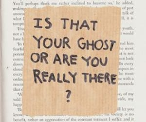 quotes, book, and ghost image