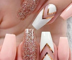 girly, makeup, and nails image