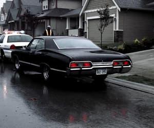car, cottage, and impala image