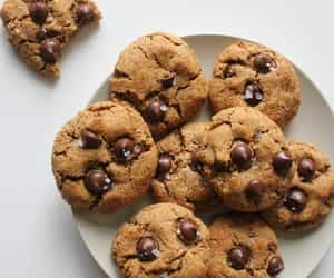 article, chocolate cookies, and food recipes image