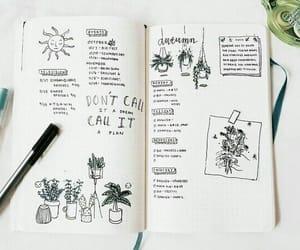 bullet journal, bujo, and planner image