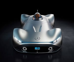 car, mercedes, and luxury car image