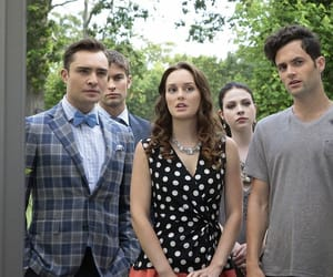 gossip girl, blair, and dan image