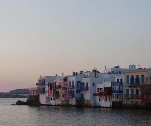 destination, Greece, and mykonos image