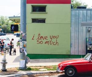 love, wall, and graffiti image