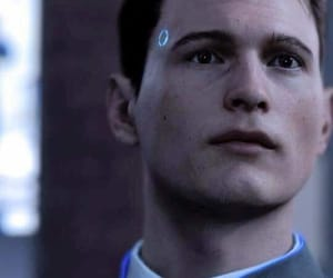 Connor, dbh, and detroit become human image