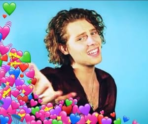meme, luke hemmings, and 5sos image