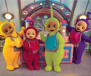po, teletubbies, and tinky winky image