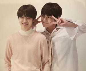 friendship, taehyung, and vmin image