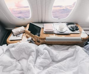 airplane, Dream, and luxury image