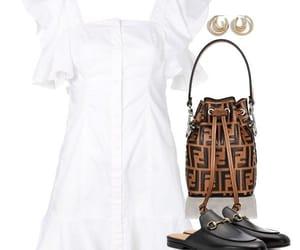 chic, dress, and fendi image