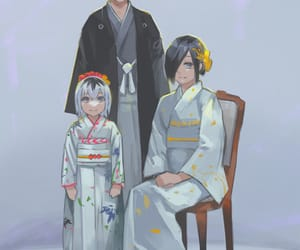 anime, anime girl, and family image