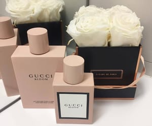 flowers, gucci, and luxury image