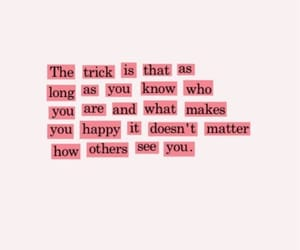 quotes, happy, and pink image