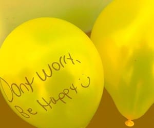 balloon, happy, and smile image