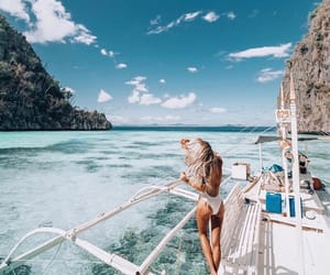 summer, travel, and girl image