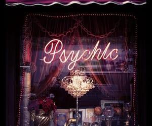 psychic, dark, and theme image